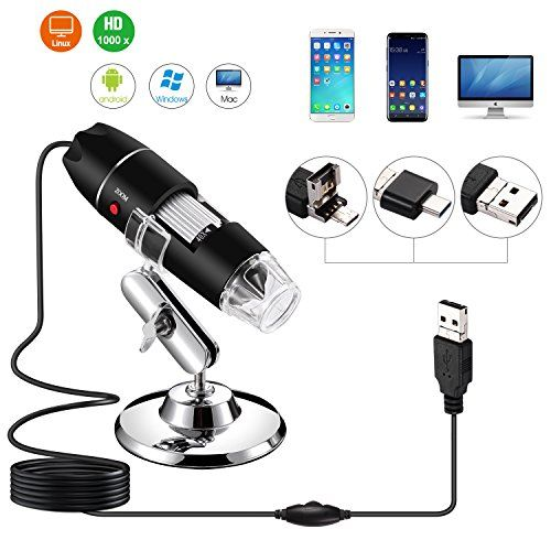 Endoscope Magnifier Digital Microscope 1000X Transportable