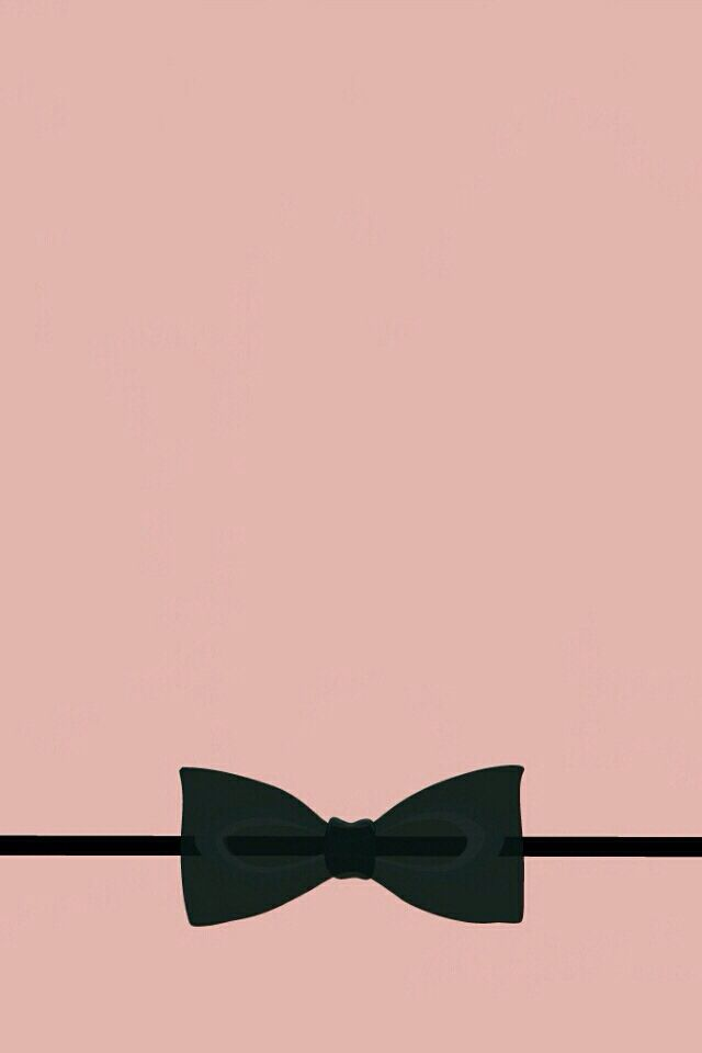 Simple cute black bow wallpaper Bow wallpaper, Phone