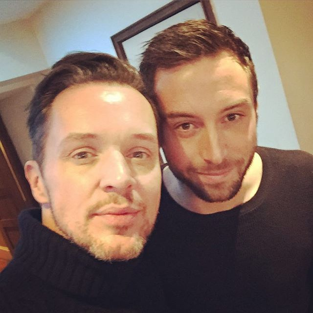 "Just bumped into the #Eurovision King at breakfast! @manszelmerlow #eurovision He said: ""great performance last night"" I'll take that (or bad boys Inc) #eurovisionuk #eurovisionyoudecide #ESC"