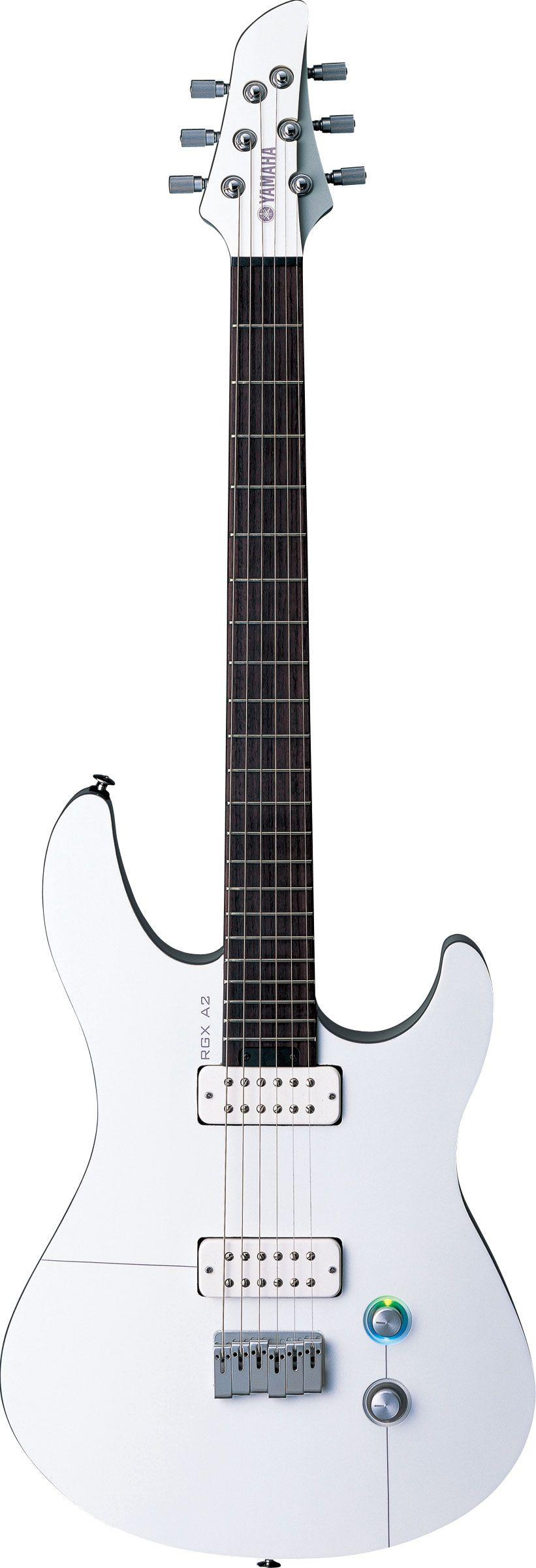 Yamaha Rgxa2 White And Aircraft Grey Electric Guitar Yamaha Guitar Yamaha Bass Guitar Guitar