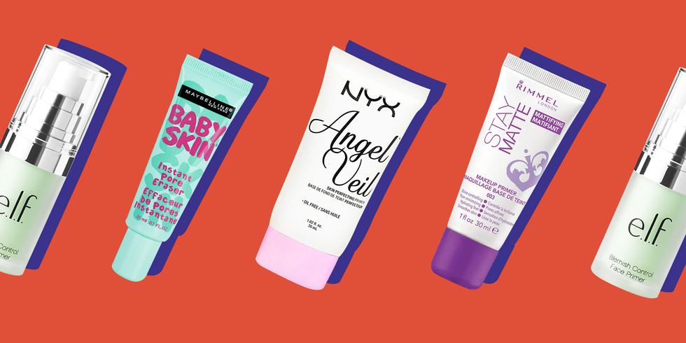 best drugstore face primer oily skin