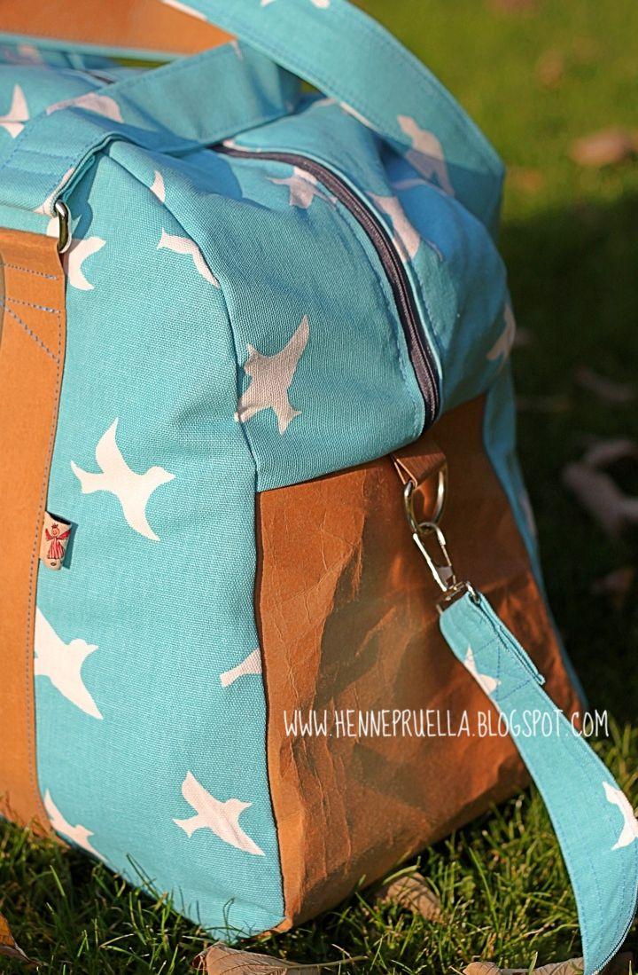 mein Weekender | Sporttaschen, Reisetaschen und Nähen