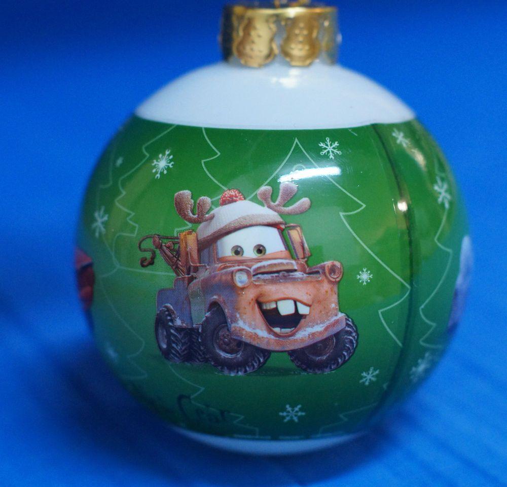 Disney California Adventure Cars Lightning Mater Decoupage Christmas Ornament #DisneyCaliforniaAdventure