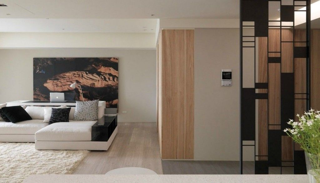 Interior Design Modern Room Partition Surprising Living