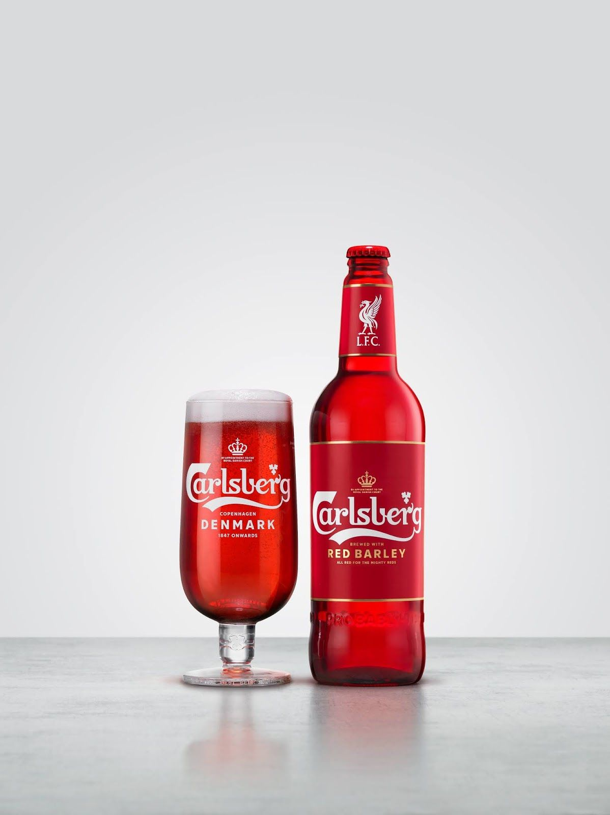 Carlsberg Goes All Red In 2020 Beer Label Design Beer Label Drinks Packaging Design