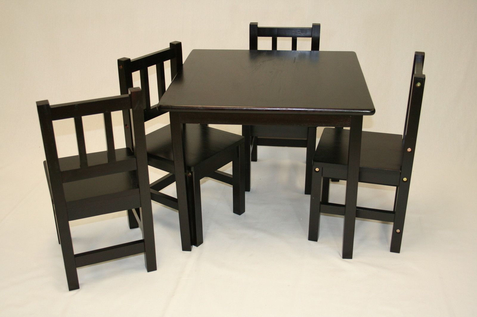 kids table and chair wood solid wood childrens table and chair set