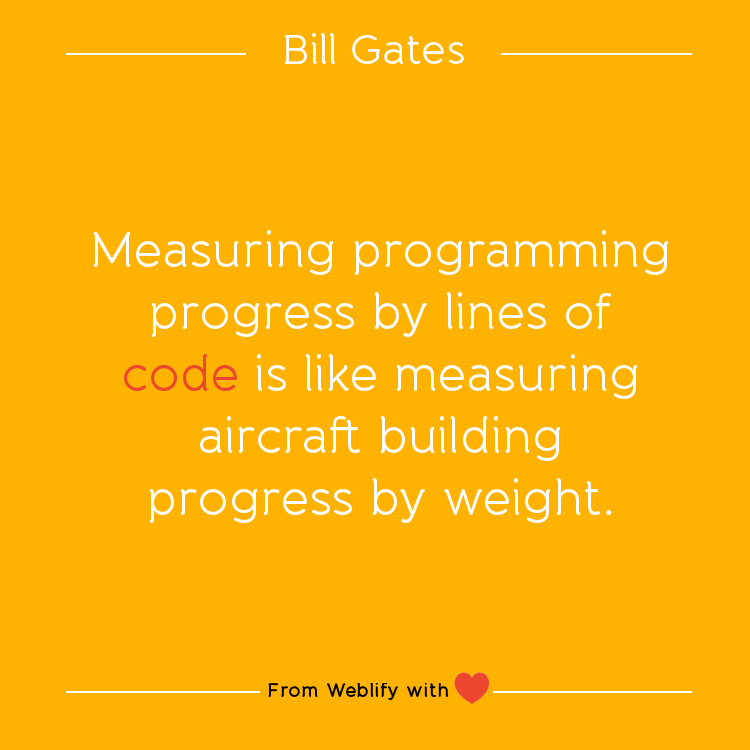 Inspiring Coding Quotes Bill Gates