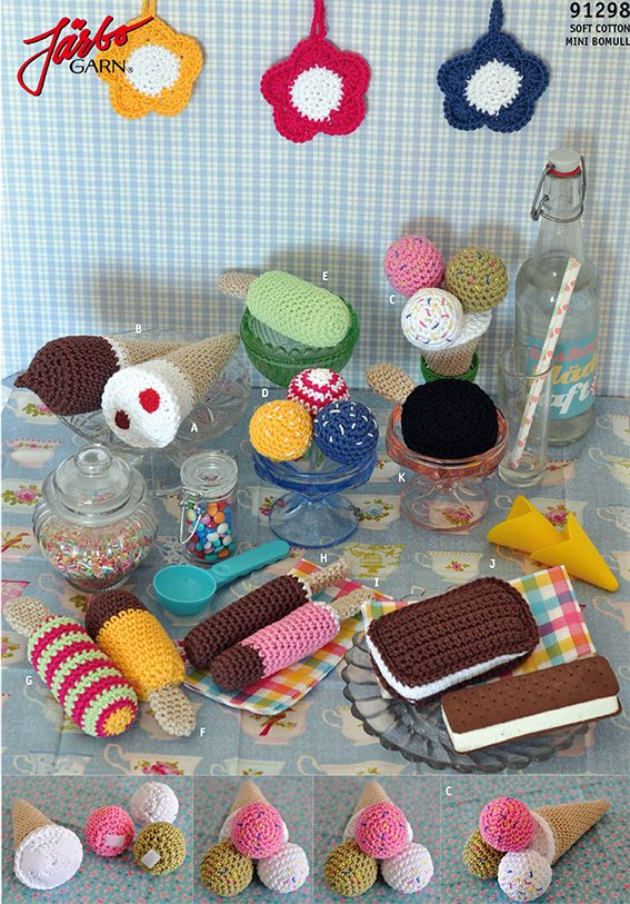 patterns amigurumi h kelanleitungen crochet food. Black Bedroom Furniture Sets. Home Design Ideas