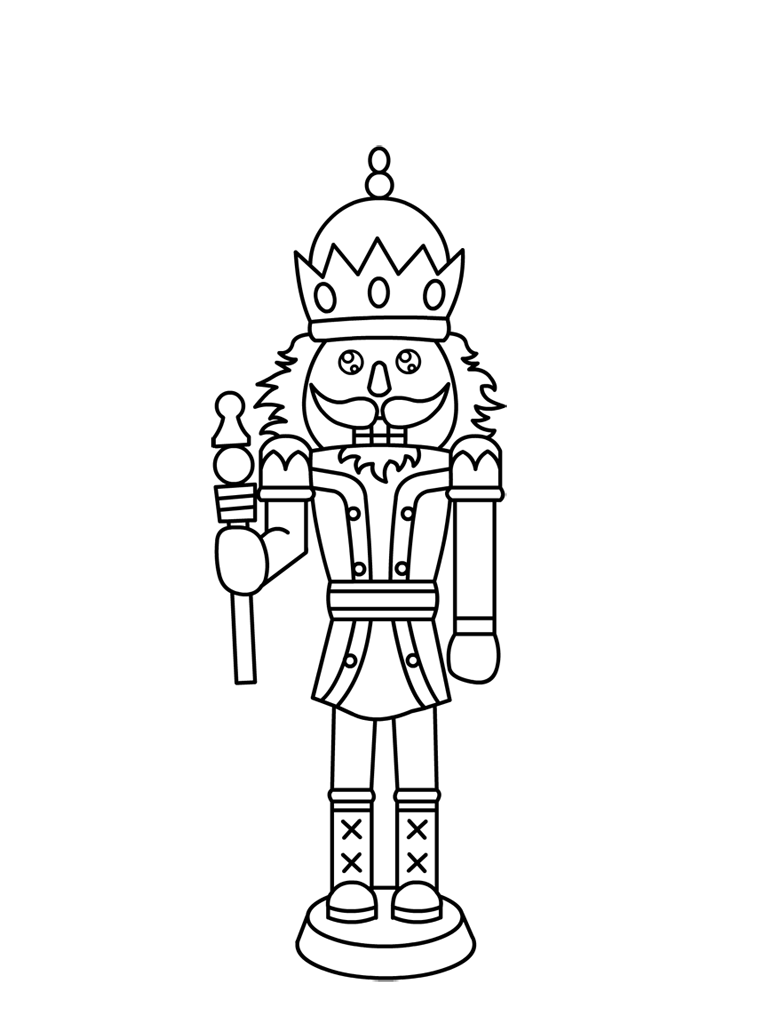 Free Printable Nutcracker Coloring Pages For Kids | Pinterest | Mice ...