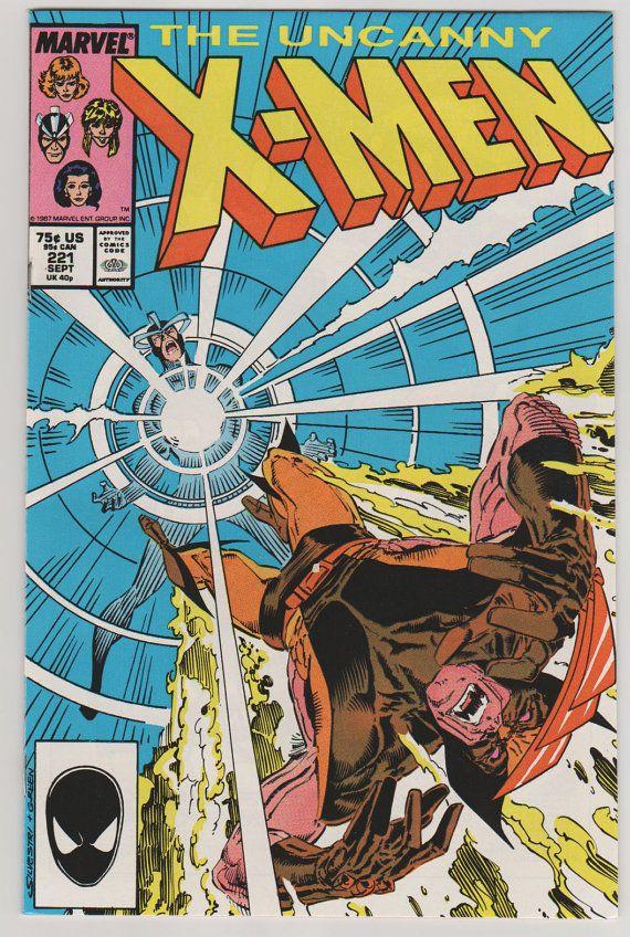 Uncanny X Men V1 221 Nm September 1987 By Rubbersuitstudios Comicbooks Xmen Mistersinster Mr Sinister X Men Comics