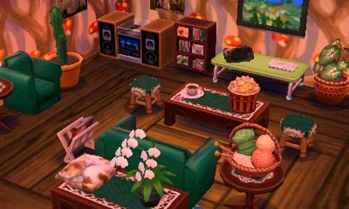 Image Result For Acnl Room Ideas Ac New Leaf