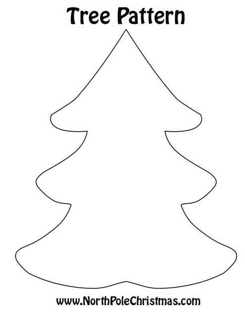 christmas tree pattern templates and patterns christmas