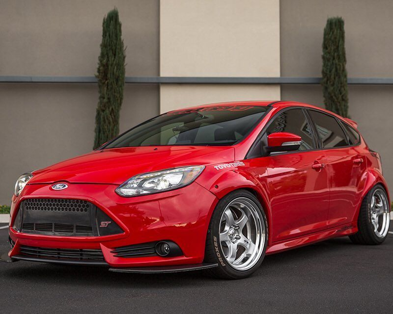 Project Focus St With The Agency Power Fender Flare Kit These
