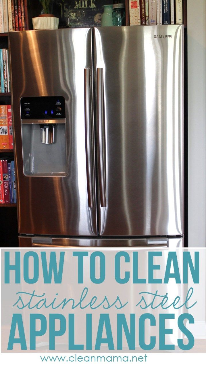 10 ways to REALLY get your kitchen clean | Cleaning stainless steel ...