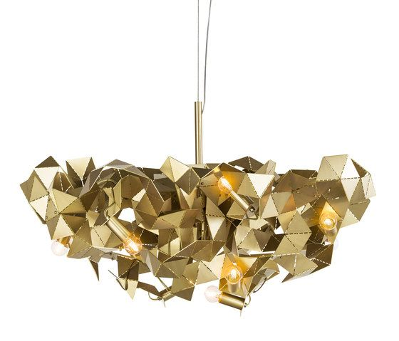 Fractal Pendant Lights: Fractal By Brand Van Egmond