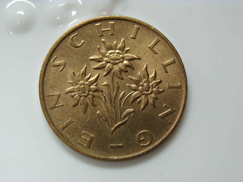 1979 1 Schilling Republik Osterreich Australian Coin