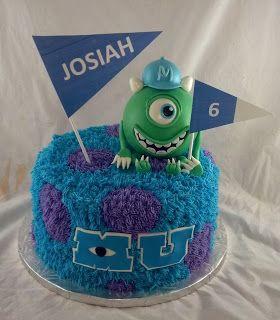 Fine Sugar Spice Sweets Monster University Cake Con Imagenes Funny Birthday Cards Online Kookostrdamsfinfo