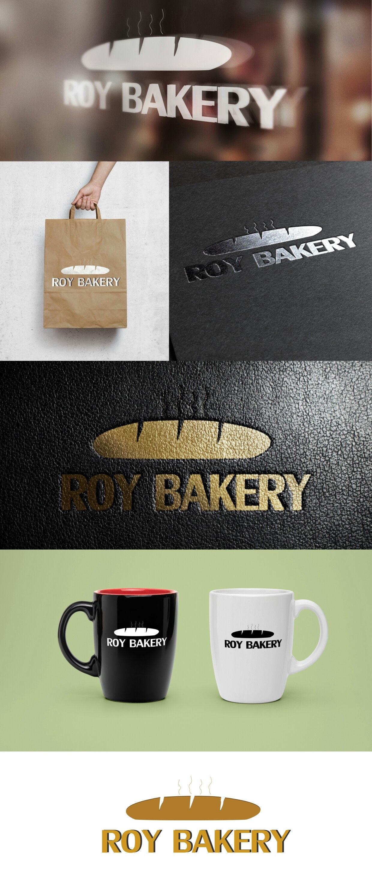 Logo Design For Bakery Bakery Logo Design Glassware