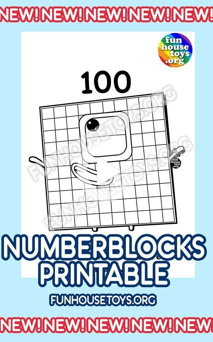 Numberblocks Printables in 2020 | Fun printables for kids ...