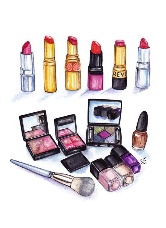 Makeup Drawing: Make Up Sketchs