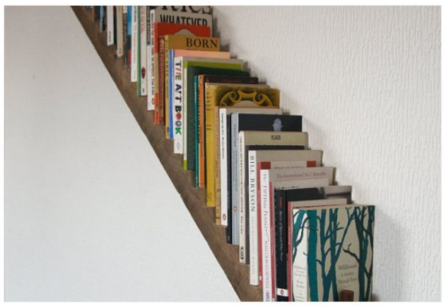 Stair Step Bookshelf