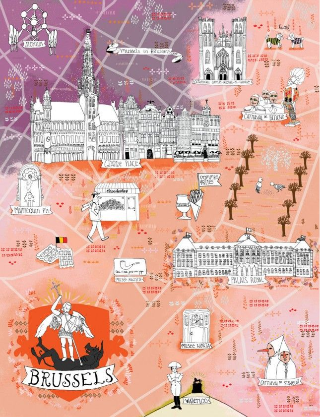 The 10 Most Beautifully Illustrated City Guides See Ya Google