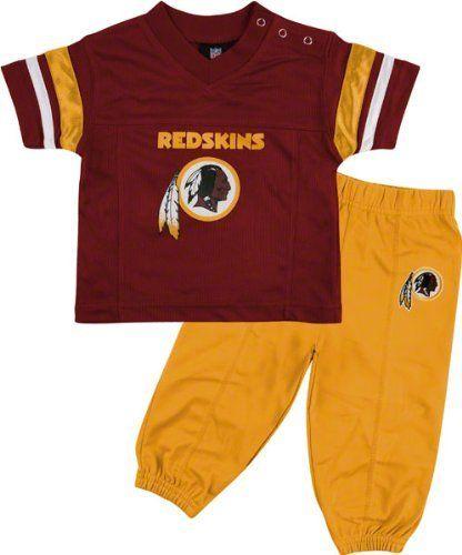 133eb5ac7bd7 Washington Redskins Infant Short Sleeve Football Jersey & Pant Set ...