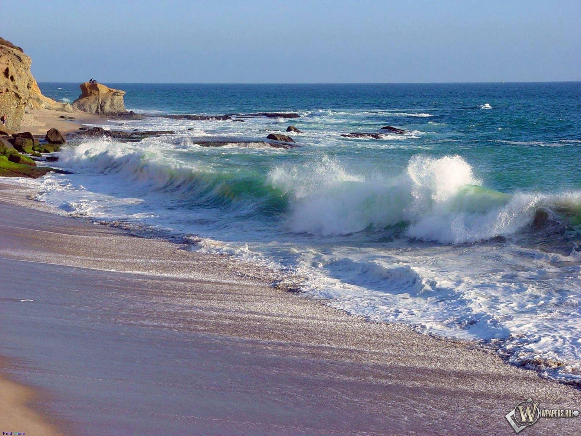 Обои, Морская волна, Вода, Море, Небо, 1920x1440, картинки ...