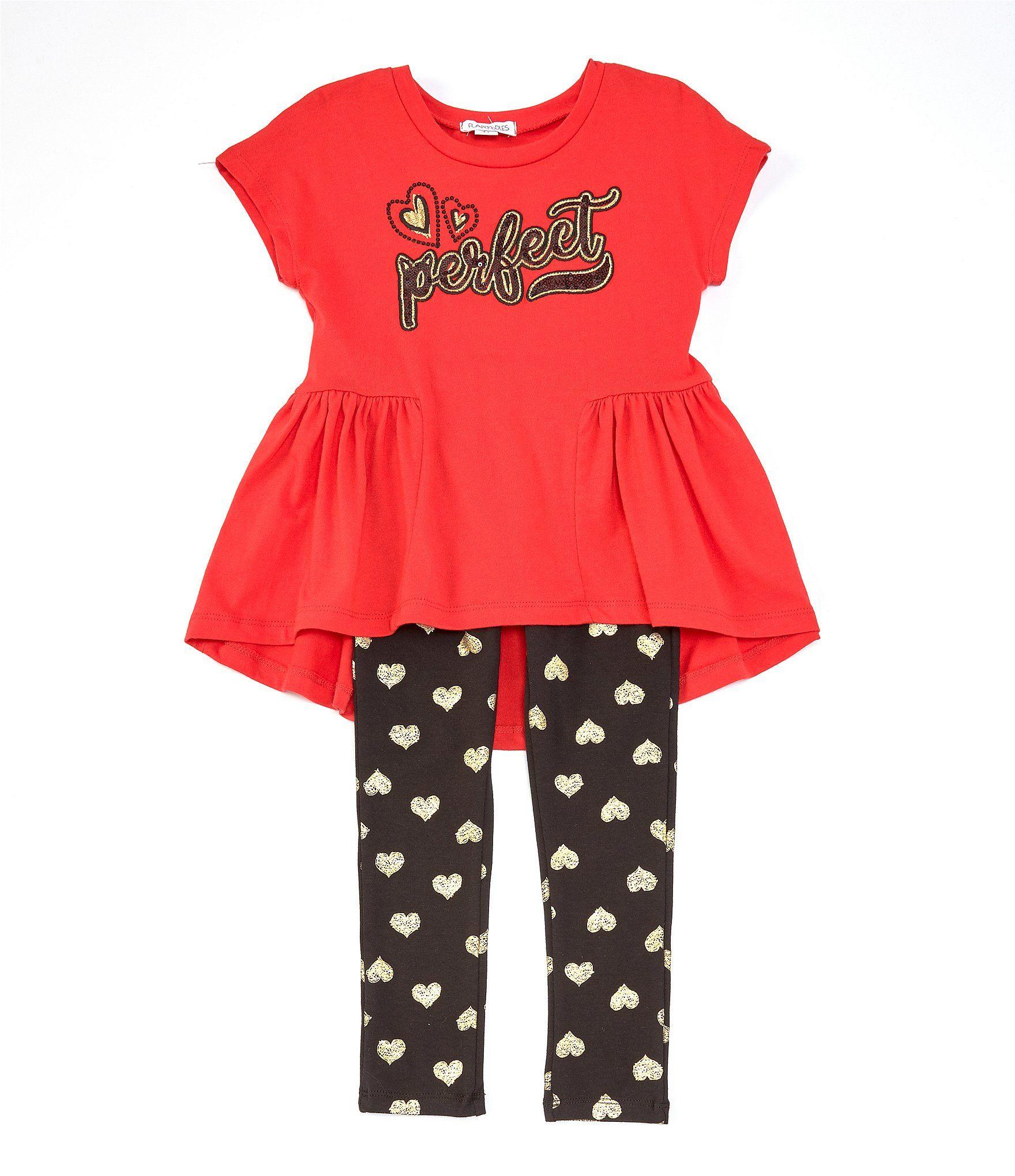 "Toddler /& Girls Flapdoodles Black /""Star/"" Shirt Size 2//2T 6X"