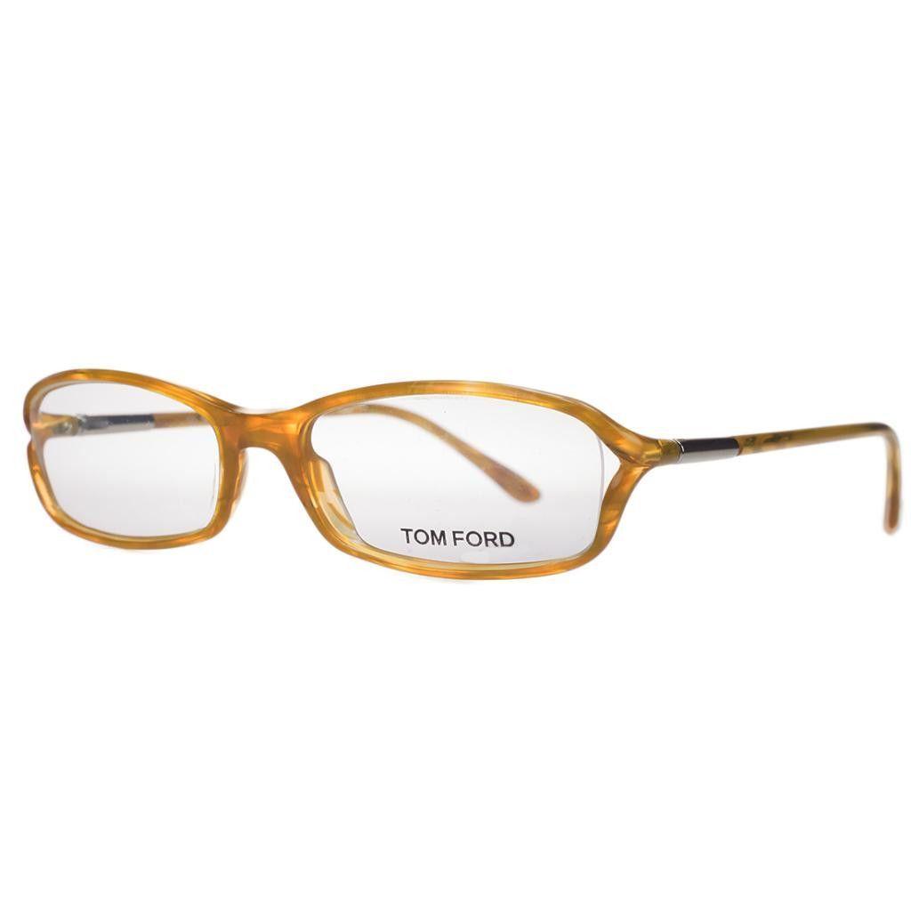 e7bd7e46b7981 Tom Ford FT 5019 V U53 Caramel Rectangular Optical Frames