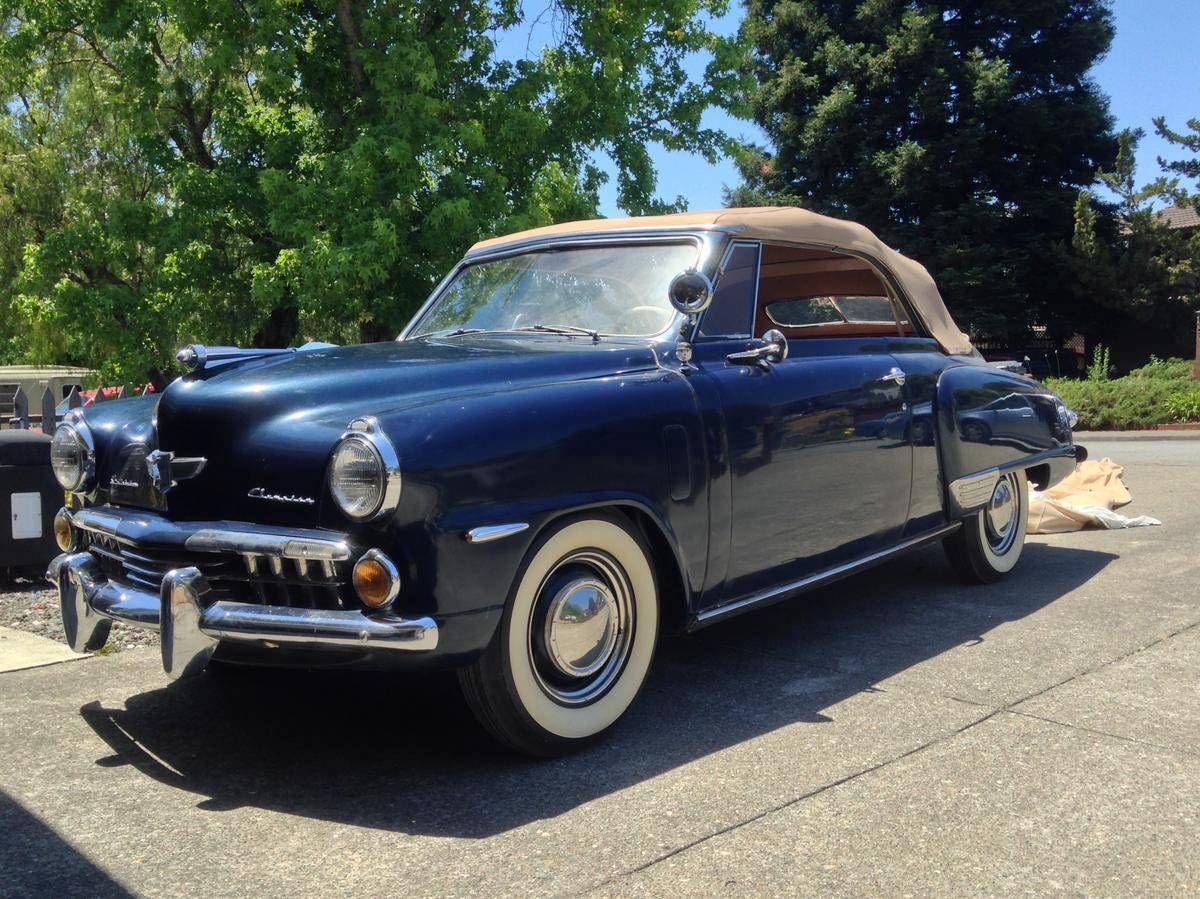 1948+Studebaker+Champion+Convertible Maintenance/restoration of old ...