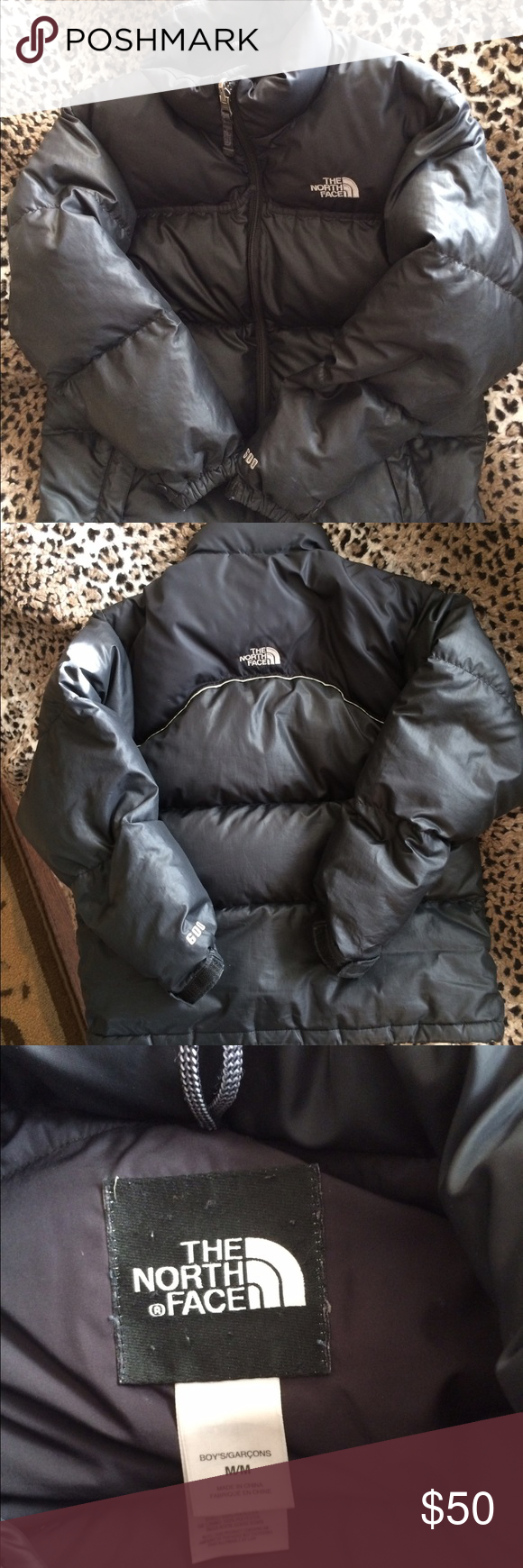 c2556b7910 🎉Price Drop 🎉 Boy s North Face 600 Puffer Coat Authentic North Face Boy s  Size Medium (10 12) Puffer 600 Down Coat. Very Good Condition.