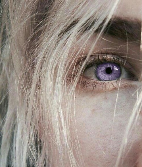 Purple Eyes Would Be A Trait In Atherians But Amane S Eyes Were
