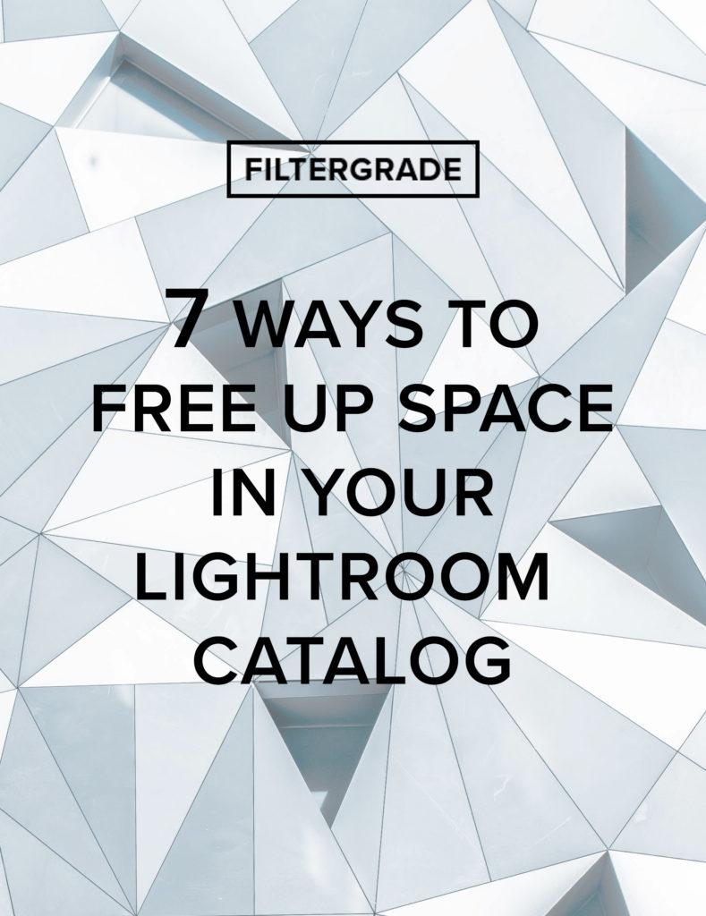 Lightroom delete catalog