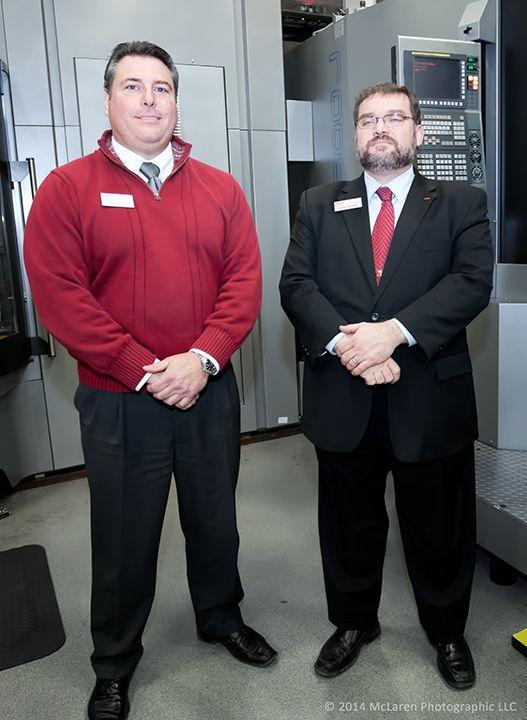 Tim Leoni (l), VP Sales and Randy Ragnini (r), Director of