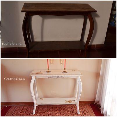 Dressoire, consola, mesa para TV, para un dormitorio o un recibidor ...