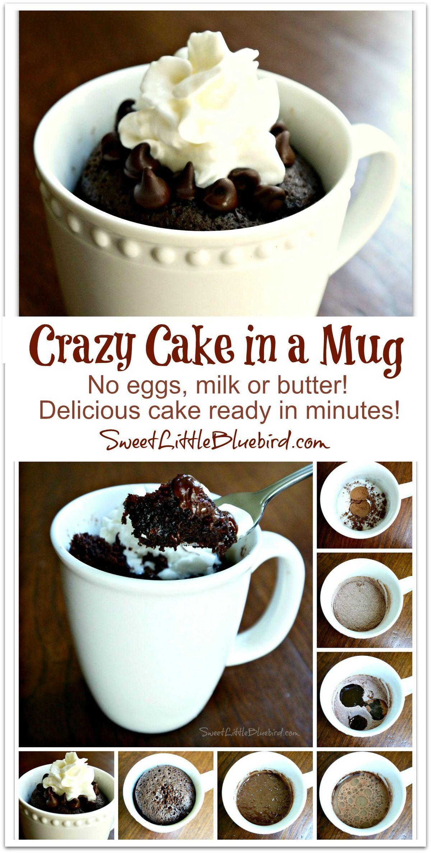Best Chocolate Mug Cake - Single Serve Mug Desserts | Mug ...