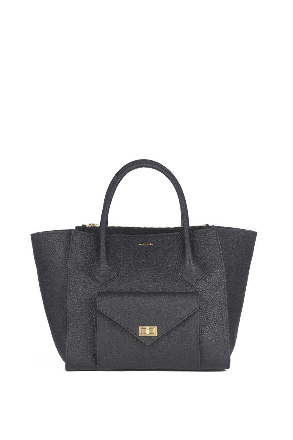 05e95178fc Madison Handbag - black - ANINE BING - 1 Abiti Da Ufficio