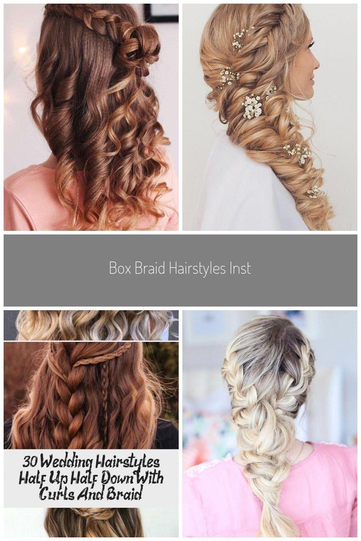 Box Braid Hairstyles Instagram Twistbraids Halbe Meerjungfrau Braid Cranberr In 2020 Box Braids Hairstyles Geflochtene Haare Haar Styling