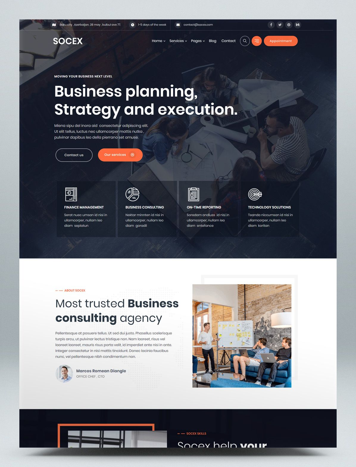 Business Consulting Wordpress Theme In 2020 Business Consulting Website Consulting Business Consulting Website