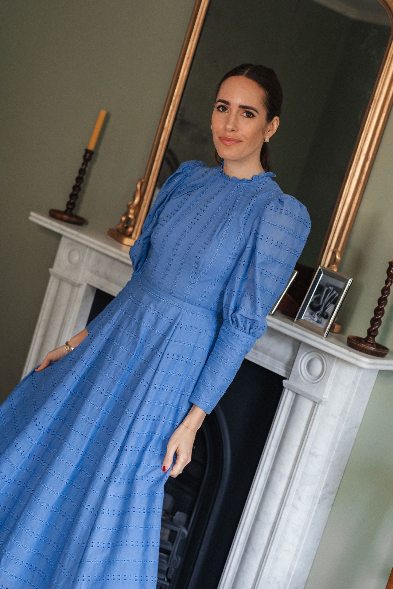 High Necks And Puff Sleeves My New Obsession Front Roe By Louise Roe Mini Dress With Sleeves Puff Sleeve Dresses Victorian Fashion [ 1920 x 1280 Pixel ]