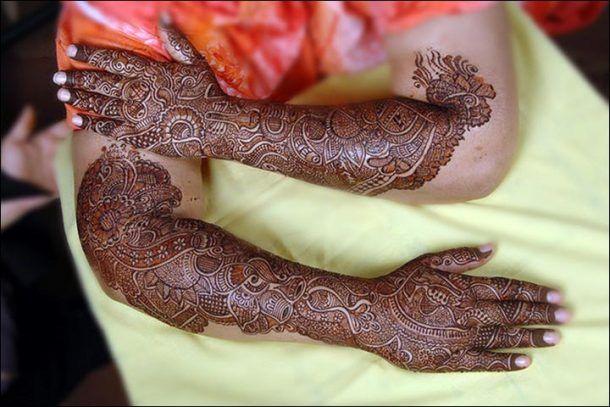 Bridal Mehndi Gta : Pin by wedandbeyond on bridal mehndi