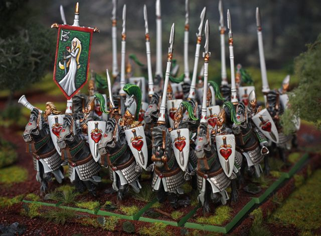 Static Painting: The Wood Elf army is now done! | Wood Elves ...
