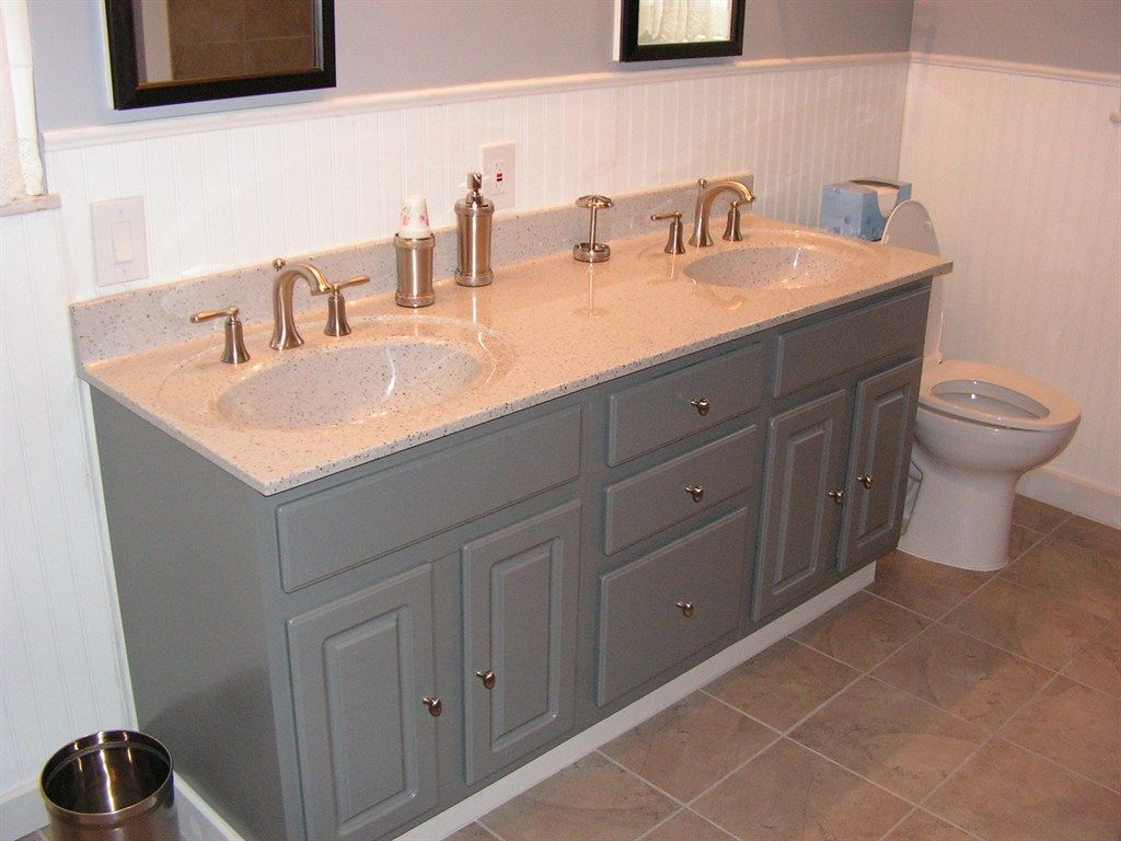 Refinishing Bathroom Vanity Awesome Bathroom Vanity Refinishing Ideas  Pinterdor  Pinterest . Inspiration Design