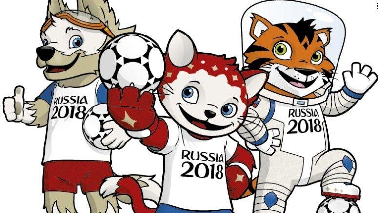 Como Desenhar E Pintar Zabivaka Mascote Da Copa 2018 Com