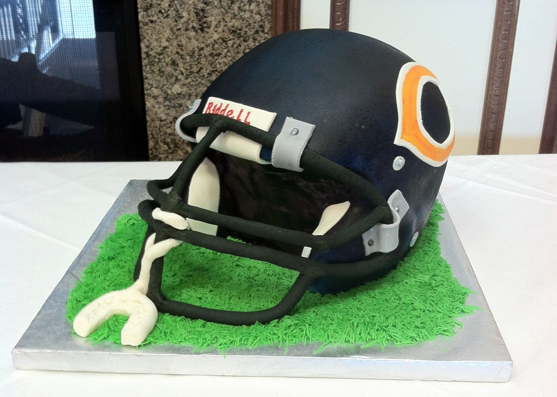 Football Themed Wedding Cakes