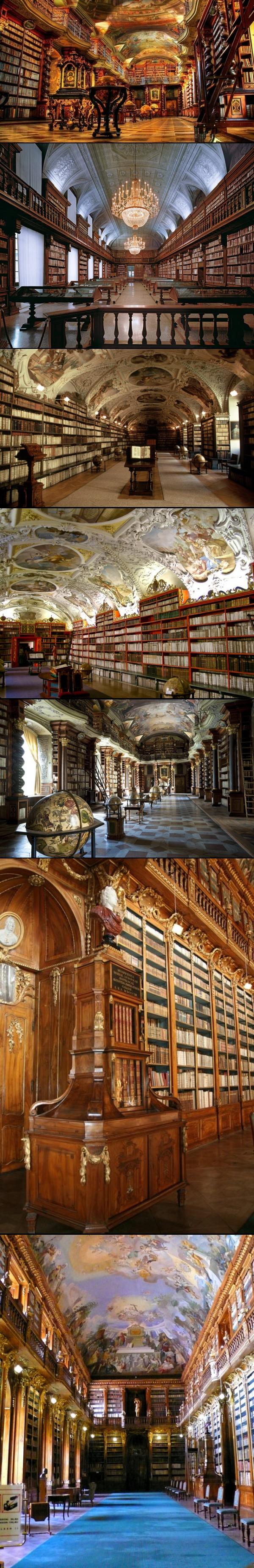 Clementinum library. Praga