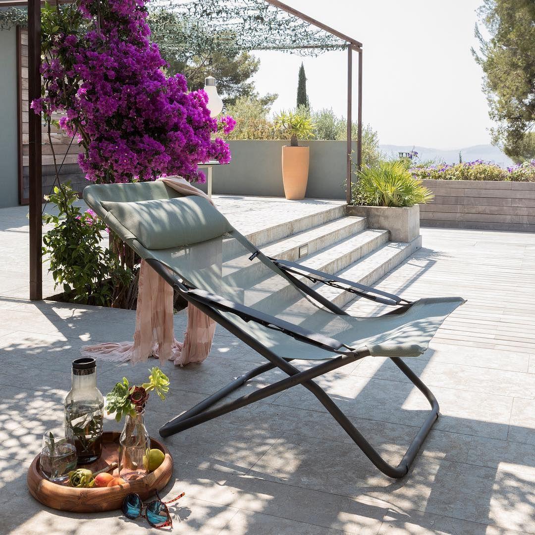 Sedia A Sdraio Moderna Lafuma.Epingle Par Valeria Rossi Sur Loggia En 2020 Mobilier Terrasse