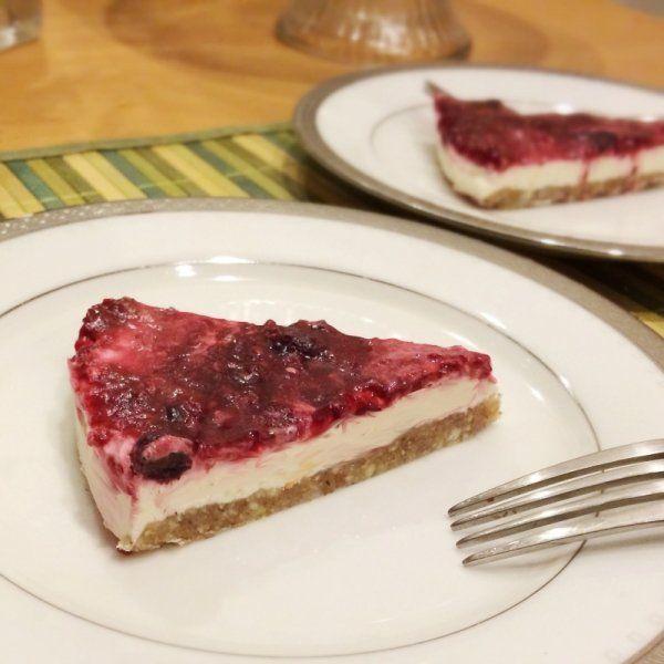 Easy No-Bake Sugar-Free Cheesecake