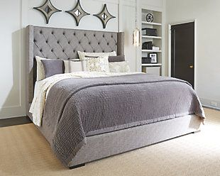 Sorinella Queen Upholstered Bed Future Home Pinterest